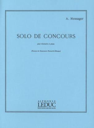 Solo de Concours André Messager Partition Clarinette - laflutedepan