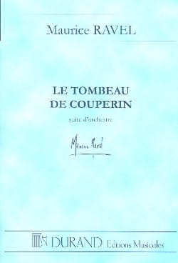 Le Tombeau de Couperin - Conducteur RAVEL Partition laflutedepan