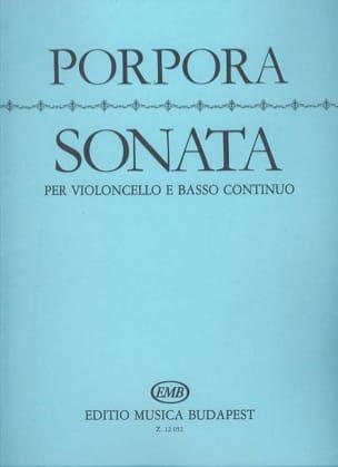 Sonate - Nicola Antonio Porpora - Partition - laflutedepan.com