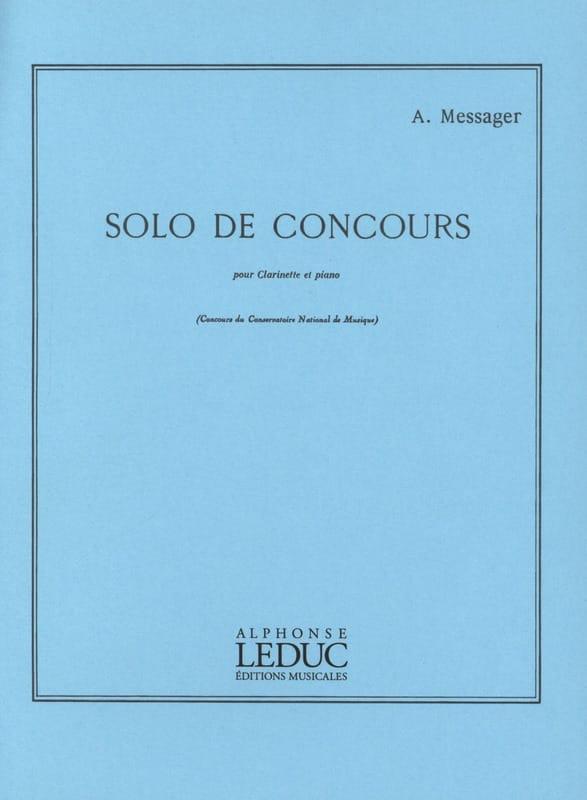 Solo de Concours - André Messager - Partition - laflutedepan.com