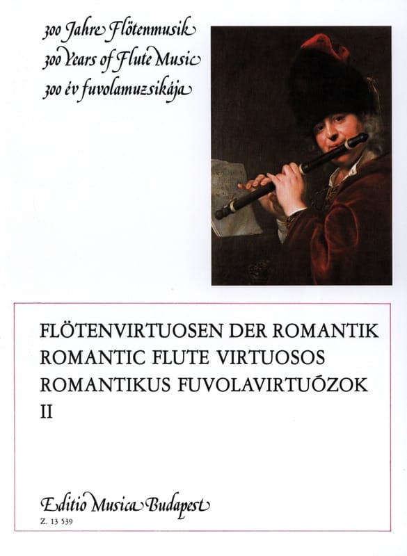 Romantic flute virtuosos - Volume 2 - laflutedepan.com