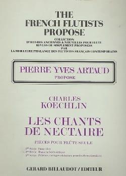 Les Chants de Nectaire - 2ème Série Charles Koechlin laflutedepan