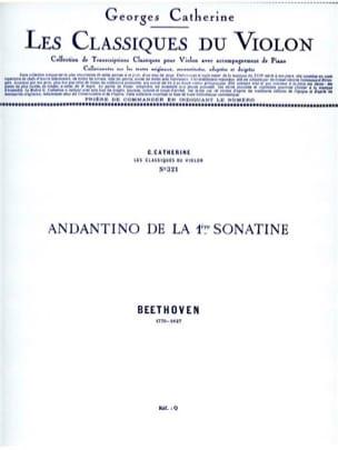 Andantino de la 1ère Sonatine - laflutedepan.com