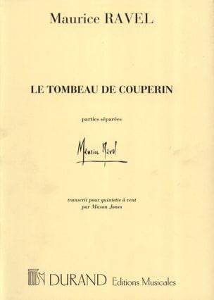Le Tombeau de Couperin RAVEL Partition Quintettes - laflutedepan