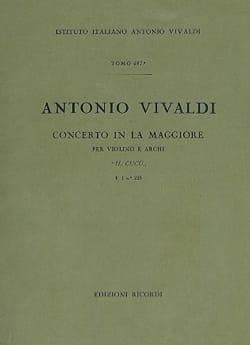 Concerto en La Maj. - F. 1 n° 223 - Partitura - laflutedepan.com