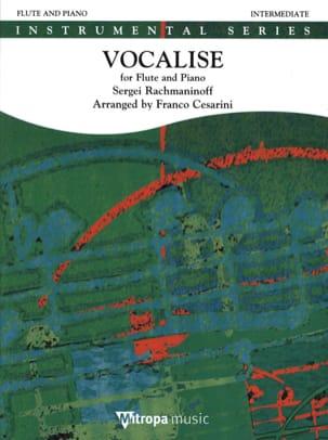Vocalise - Flûte et piano RACHMANINOV Partition laflutedepan