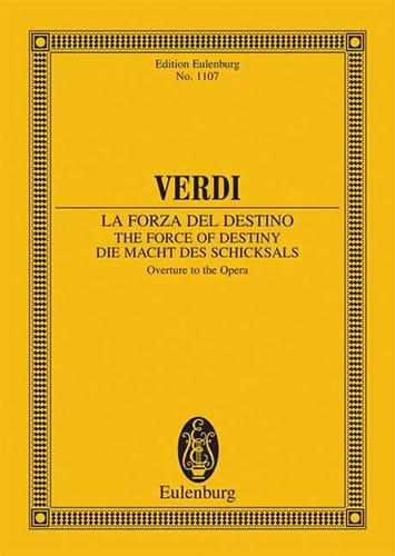 La Force du Destin, Ouverture - Conducteur - VERDI - laflutedepan.com