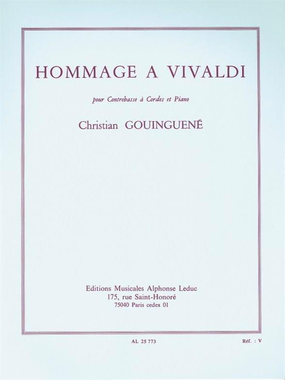 Hommage à Vivaldi - Christian Gouinguené - laflutedepan.com
