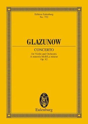Violin-Konzert a-moll, op. 82 - Partitur laflutedepan