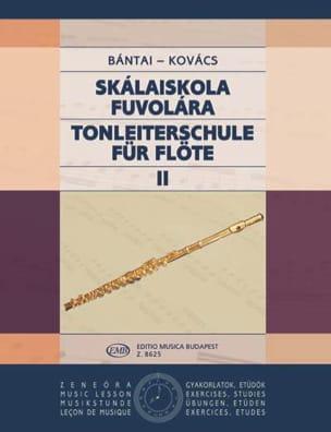 Bantai Vilmos / Kovacs Gabor - Tonleiterschule für Flöte - Bd. 2 - Partition - di-arezzo.es