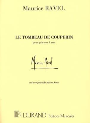 Le Tombeau de Couperin - Quintette à vent -Conducteur laflutedepan