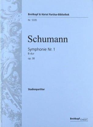 Symphonie N° 1 en Sib M., Op. 38 - Conducteur SCHUMANN laflutedepan