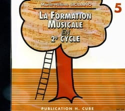 CD / Ma 5ème année de formation musicale SICILIANO laflutedepan