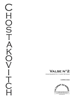 Valse N°2 extraite de la Suite de Jazz n°2 CHOSTAKOVITCH laflutedepan