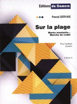 Sur la Plage - Hautbois et Piano Pascal Gervais Partition laflutedepan