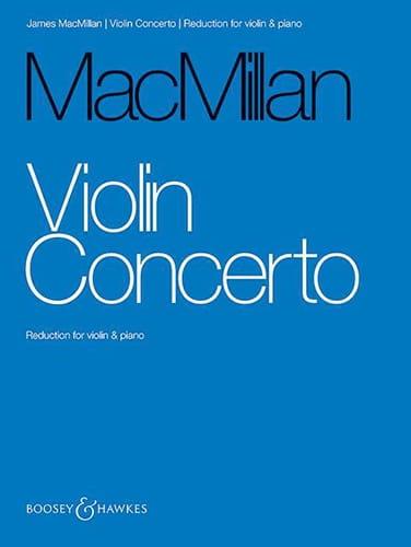 Concerto pour violon - James MacMillan - Partition - laflutedepan.com
