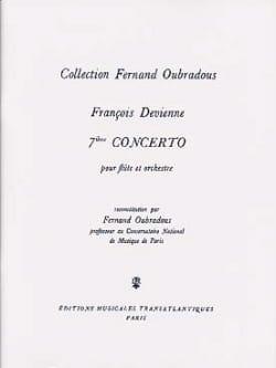 Concerto N° 7 en Mi Mineur DEVIENNE Partition laflutedepan