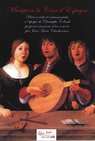 Musique à la Cour d'Espagne Jean-Louis Charbonnier laflutedepan