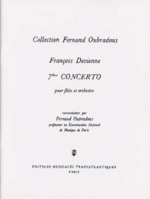 Concerto N° 7 en Mi Mineur - DEVIENNE - Partition - laflutedepan.com
