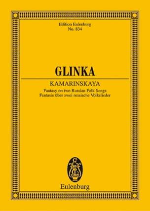 Kamarinskaja - Michael Glinka - Partition - laflutedepan.com