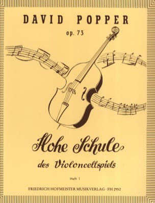 Hohe Schule des Violoncellspiels op. 73, Heft 1 laflutedepan