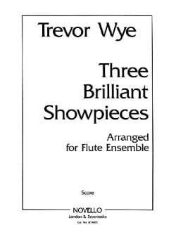 3 Brilliant Showpieces Parts - Flute ensemble Trevor Wye laflutedepan