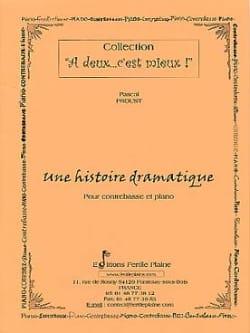 Une Histoire Dramatique Pascal Proust Partition laflutedepan