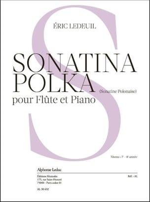 Sonatina Polka Eric Ledeuil Partition Flûte traversière - laflutedepan