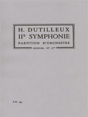 Symphonie n° 2 - DUTILLEUX - Partition - laflutedepan.com
