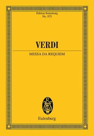 Requiem VERDI Partition Petit format - laflutedepan