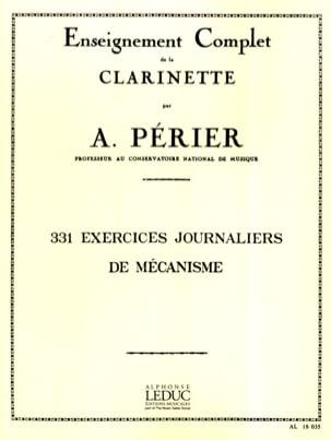 331 Exercices journaliers de mécanisme Auguste Périer laflutedepan