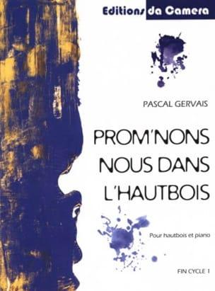 Prom'nons nous dans l'Hautbois Pascal Gervais Partition laflutedepan