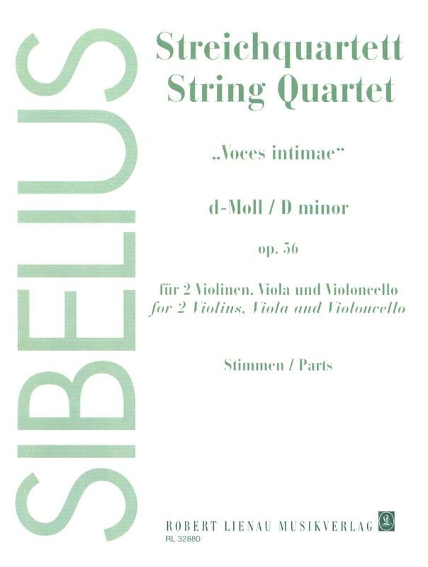 Streichquartett d-moll op. 56 -Stimmen - SIBELIUS - laflutedepan.com