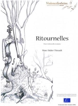 Ritournelles - Marc-Didier Thirault - Partition - laflutedepan.com