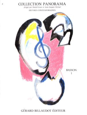 Panorama Basson, Volume 1 Partition Basson - laflutedepan