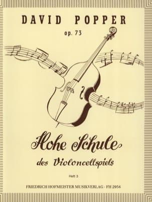 Hohe Schule des Violoncellspiels op. 73, Heft 3 laflutedepan