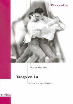 Tango en La Astor Piazzolla Partition Violon - laflutedepan