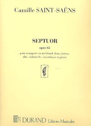 Septuor op. 65 - Partition + parties SAINT-SAËNS laflutedepan