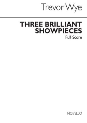 3 Brilliant Showpieces Score - Ensemble De Flûtes laflutedepan