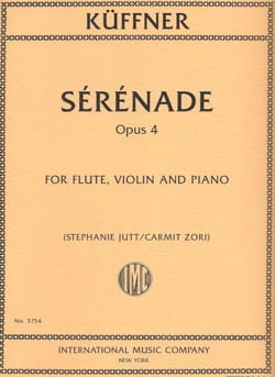 Sérénade, opus 4 - Flûte, Violon et Piano - laflutedepan.com