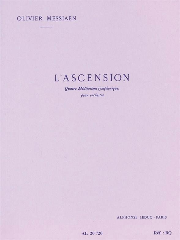 L' Ascension Poche - Conducteur - MESSIAEN - laflutedepan.com