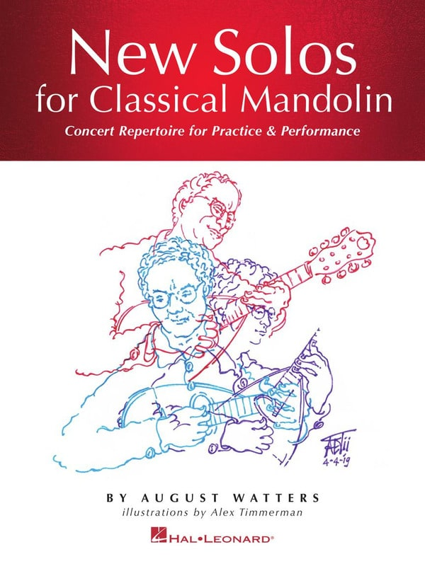 New Solos for Classical Mandolin - August Watters - laflutedepan.com