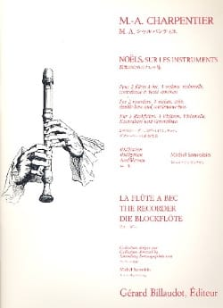Noels Sur Les Instruments CHARPENTIER Partition laflutedepan