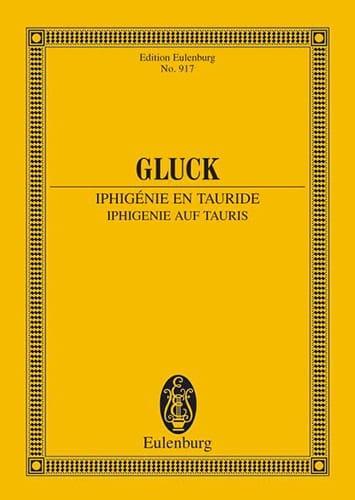 Iphigenie auf Tauris - GLUCK - Partition - laflutedepan.com