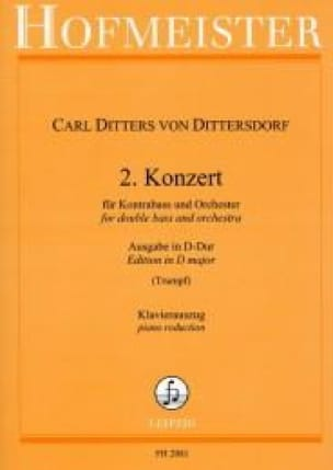 Konzert n° 2 in D-Dur - Kontrabass - laflutedepan.com