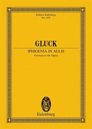 Iphigenie In Aulis, Ouverture - Conducteur GLUCK laflutedepan