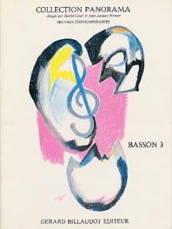 Panorama Basson, Volume 3 Partition Basson - laflutedepan