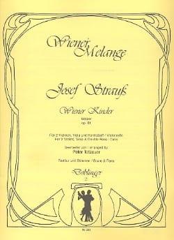 Wiener Kinder Josef Strauss Partition Quatuors - laflutedepan