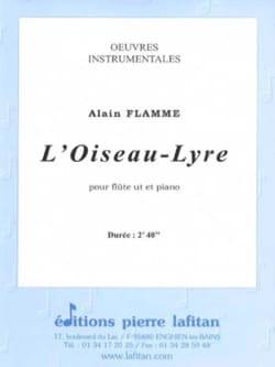 L'oiseau-Lyre - Flûte et piano Alain FLAMME Partition laflutedepan