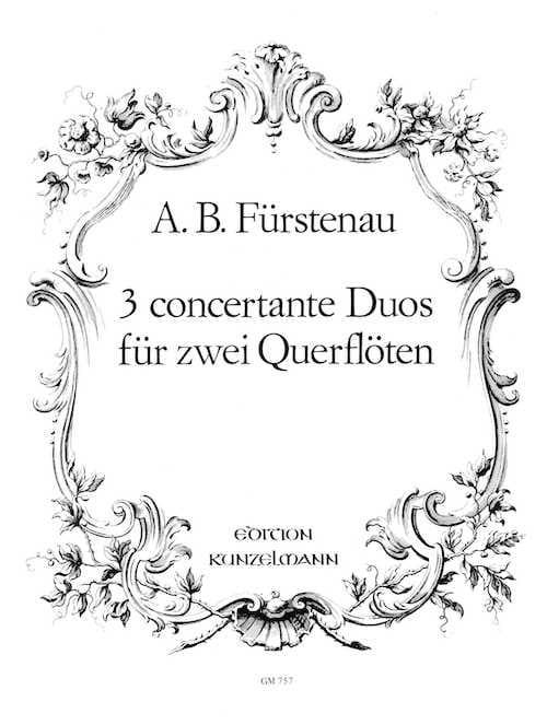 3 Concertante Duos - 2 Flöten - laflutedepan.com